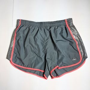 Pink Victoria Secret Grey and Pink Workout Shorts